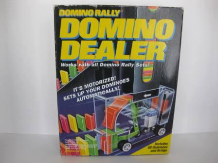 Domino Rally Domino Dealer (1994) - Board Game